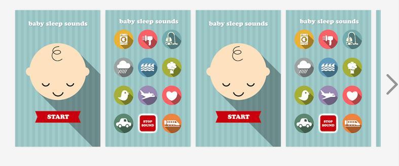 Aplikacja Baby sleep sounds