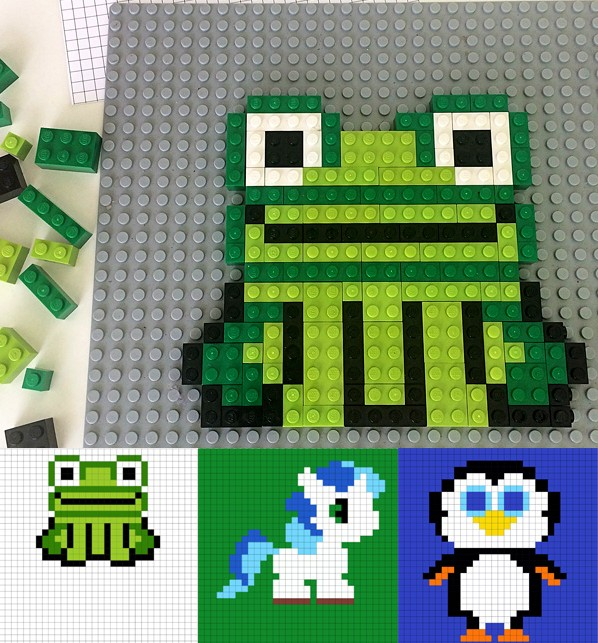 http://childhood101.com/2015/05/making-lego-pictures-3-printable-animal-designs/