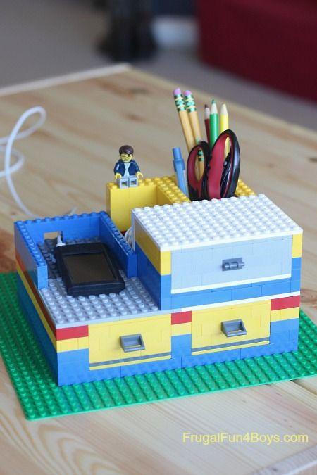 http://frugalfun4boys.com/2015/01/25/build-lego-desk-organizer-working-drawers/