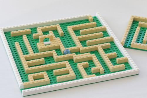 http://thecraftymummy.com/2014/07/kids-lego-marble-run/