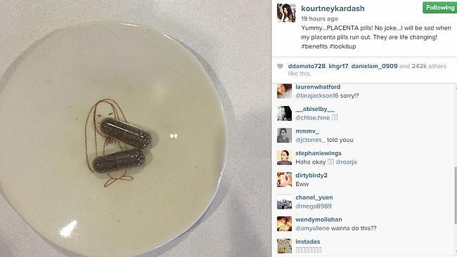 Instagram - Kourtney Kardashian